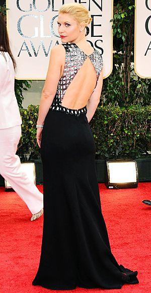 Golden Globes 2012 Claire Danes