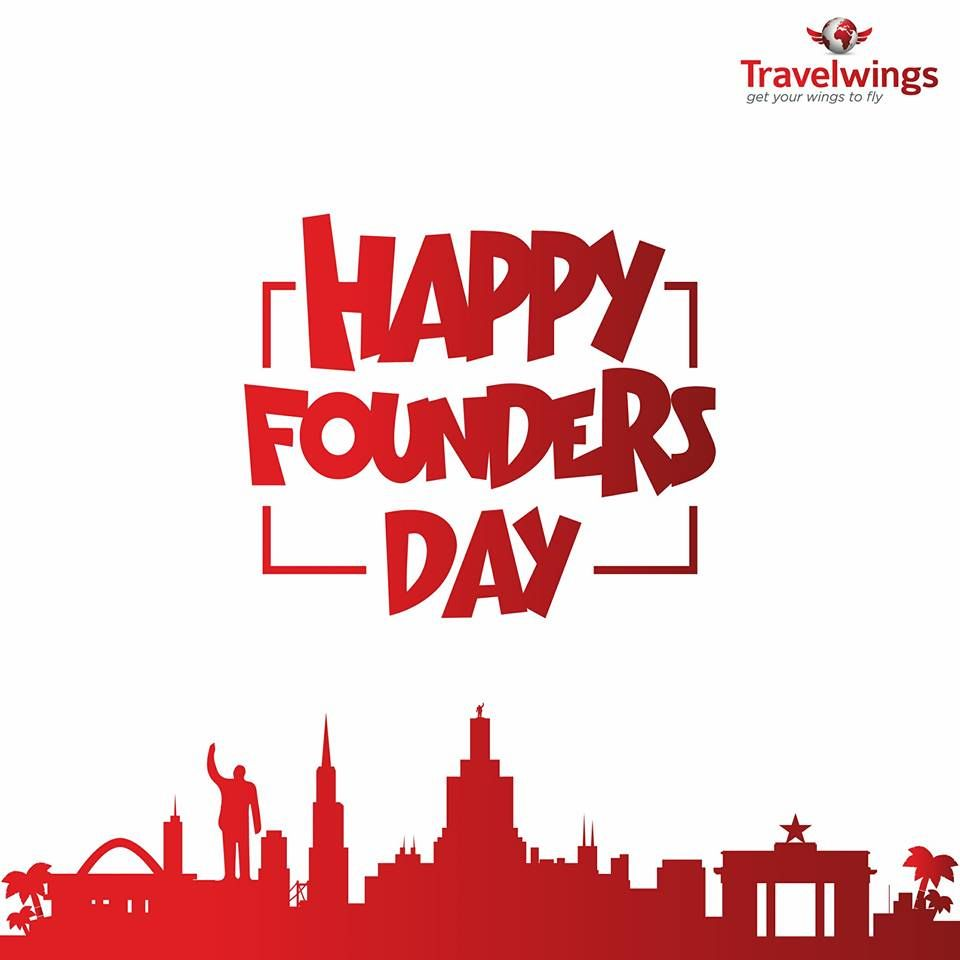 Today marks the day we celebrate Ghana's first president, Dr. Kwame Nkrumah and the founding fathers of Ghana. In 1952, he became the prime minister before the independence in 1957. Happy Kwame Nkrumah Day. #FoundersDay #Ghana