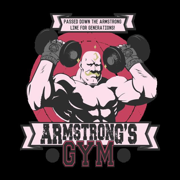 f8d23d2cafb Armstrong s Gym - Fullmetal Alchemist T-Shirt