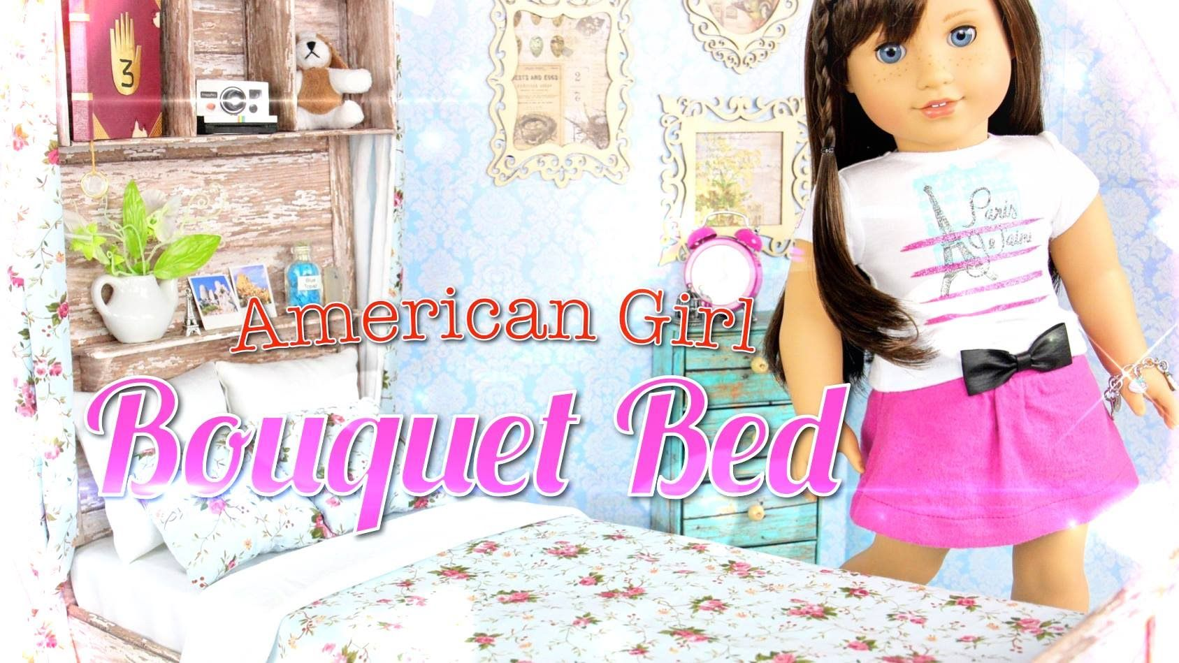 how to make a american girl doll dresser