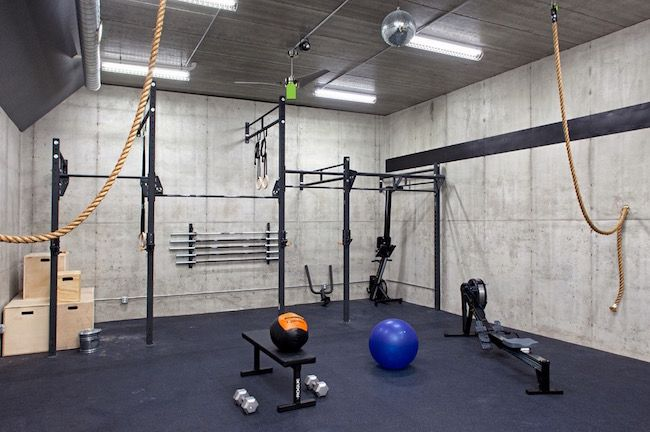 Places in your home to set up your own home gym home gym