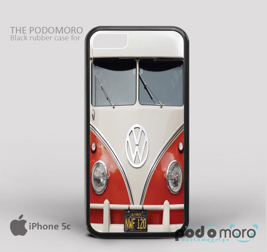 Retro VW Vintage for iPhone 4/4S, iPhone 5/5S, iPhone 5c, iPhone 6, iPhone 6 Plus, iPod 4, iPod 5, Samsung Galaxy S3, Galaxy S4, Galaxy S5, Galaxy S6, Samsung Galaxy Note 3, Galaxy Note 4, Phone Case