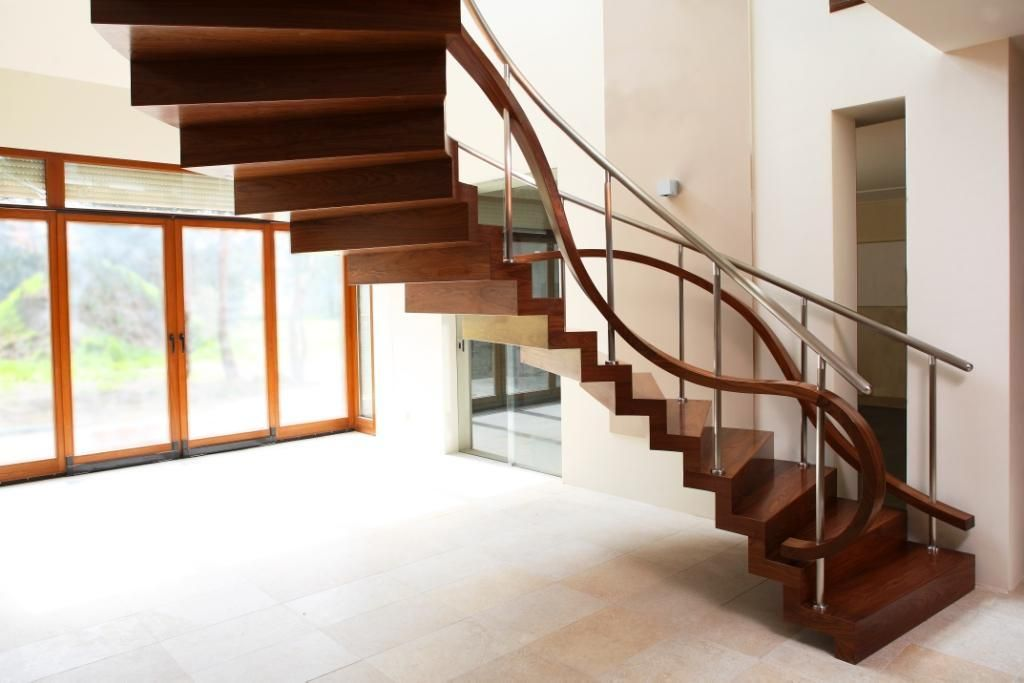 Best A Helical Zig Zag Stair With No Stringers And Unusual 400 x 300