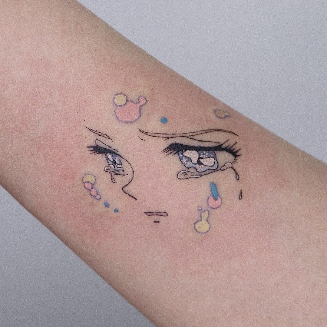 Pin On Anime Tattoos