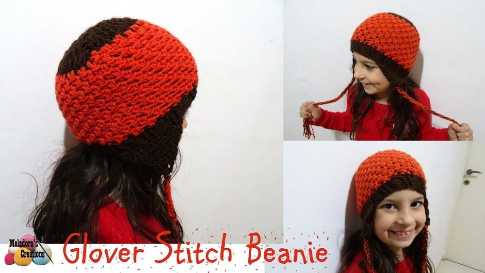 Glover Stitch Crochet Beanie | Pinterest