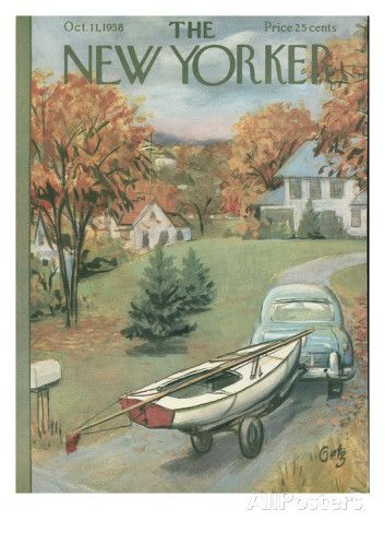 The New Yorker Cover - October 11, 1958