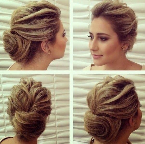 Penteados De Festa Para Madrinhas Hairstyles Penteado