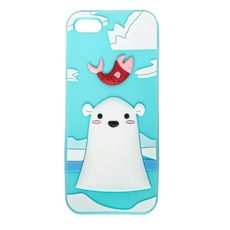 Arctic Polar Bear Cover for iPhone 5,  5s and 5c