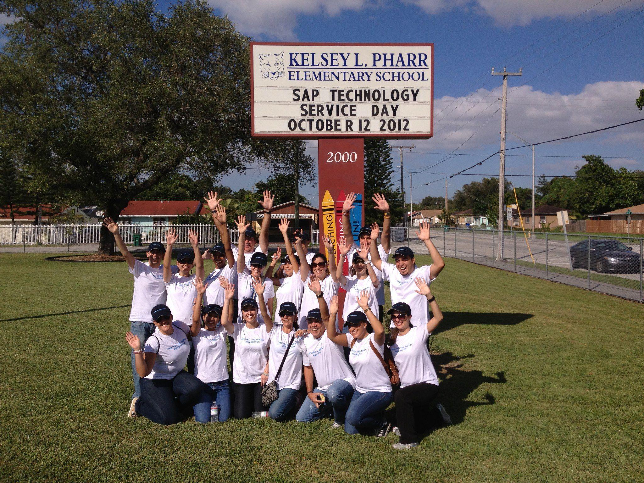 Sap Enhances Kelsey L Pharr Elementary School Elementary Schools Elementary School Learn more about how to get involved. sap enhances kelsey l pharr elementary