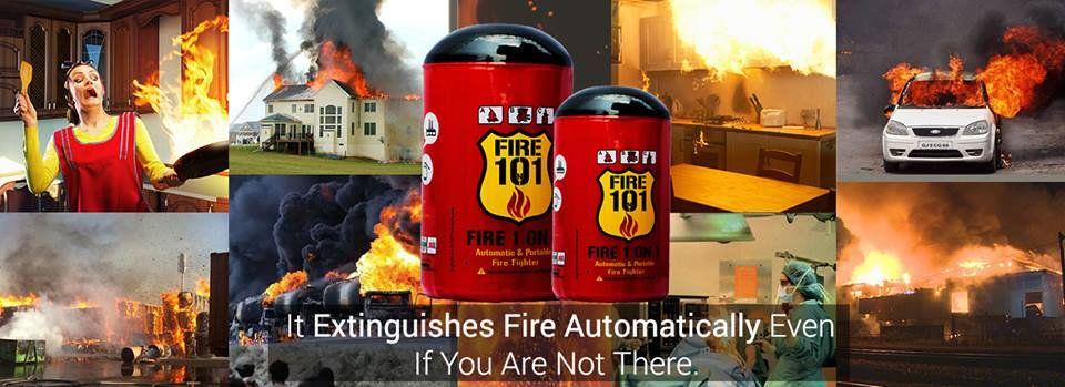 Automaticfireextinguisher it extinguishes fire
