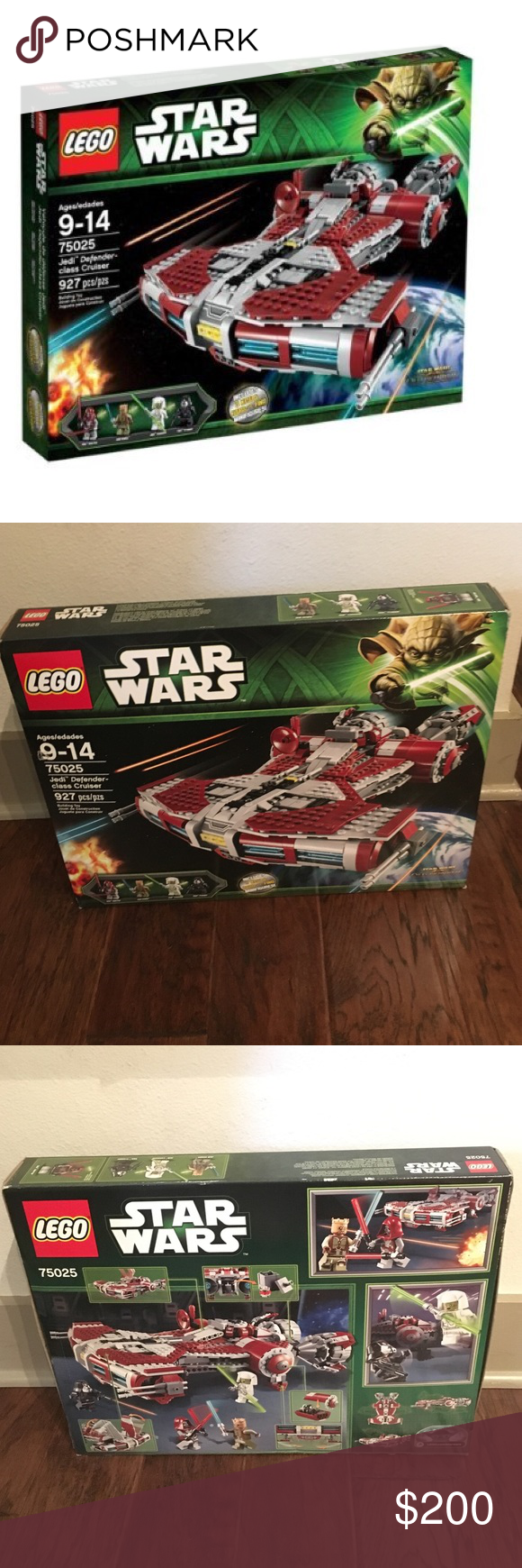 Star Wars Jedi Defender Class Cruiser 75025 Brand New in box Lego Other