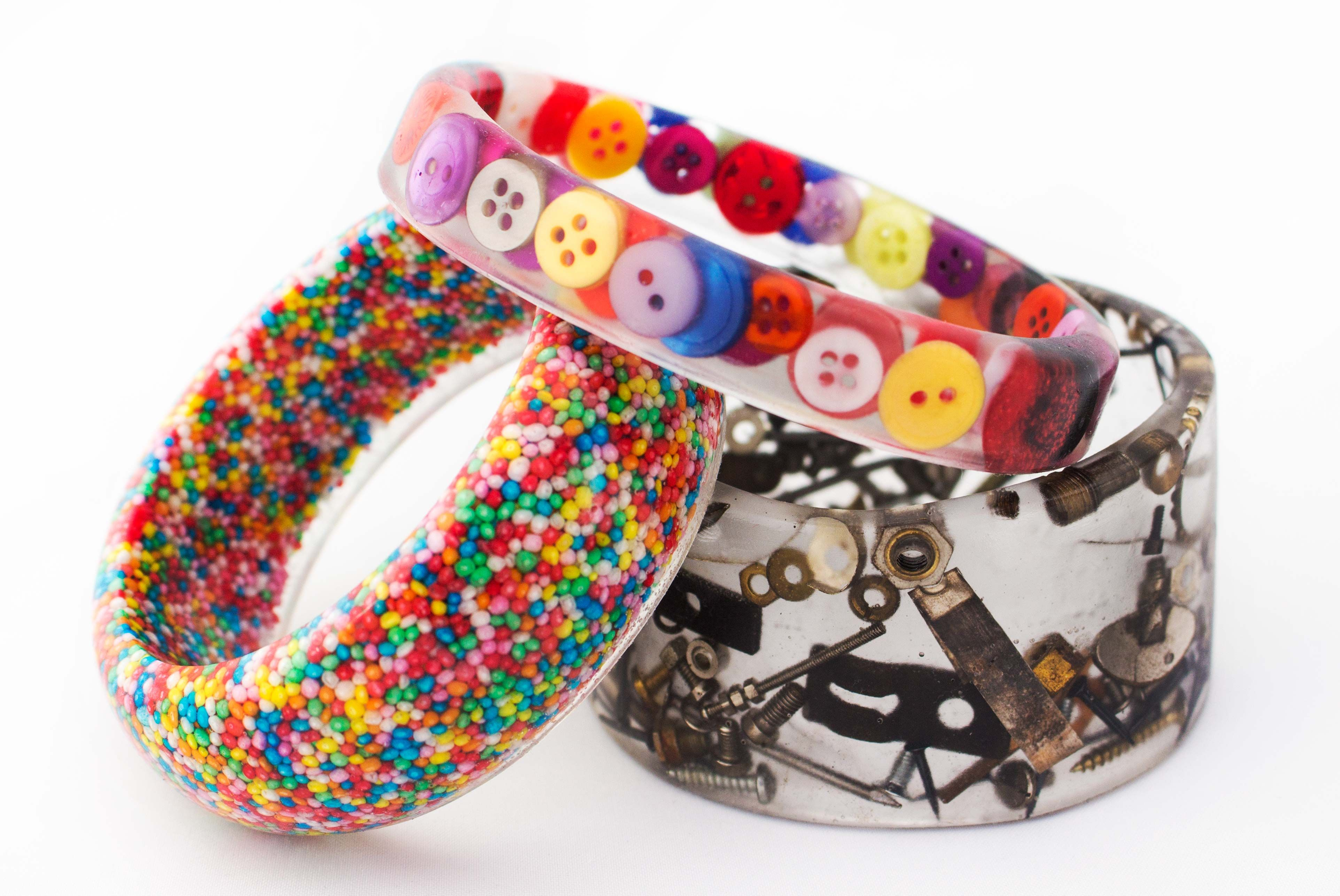 what is resin used for in jewelry making
