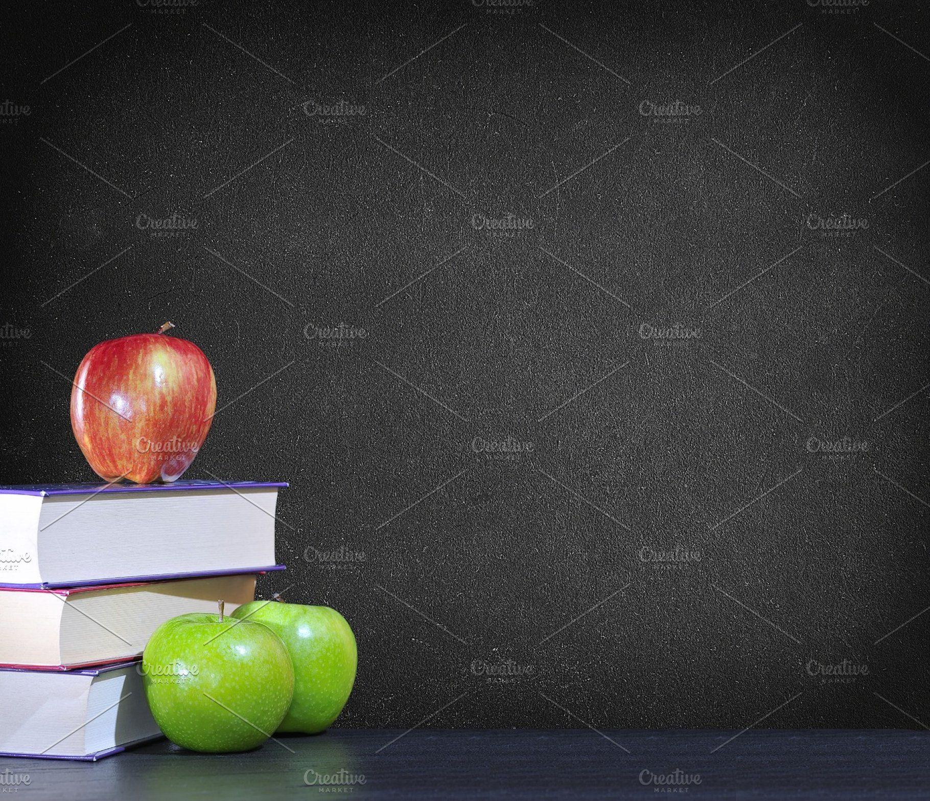 Back To School Back To School Red Apple School