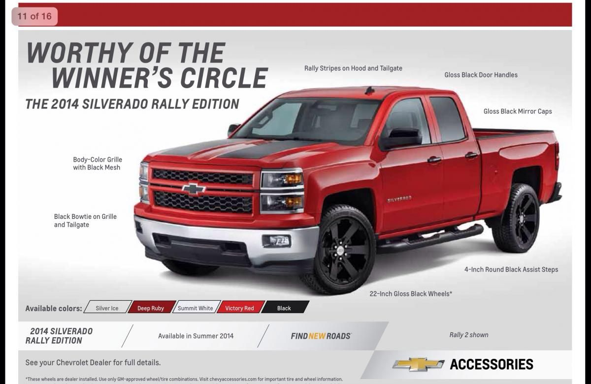 2015 Chevy Silverado Rally Edition Specs >> Silverado Rally 2014 Pesquisa Google Gmc And Chevy Trucks