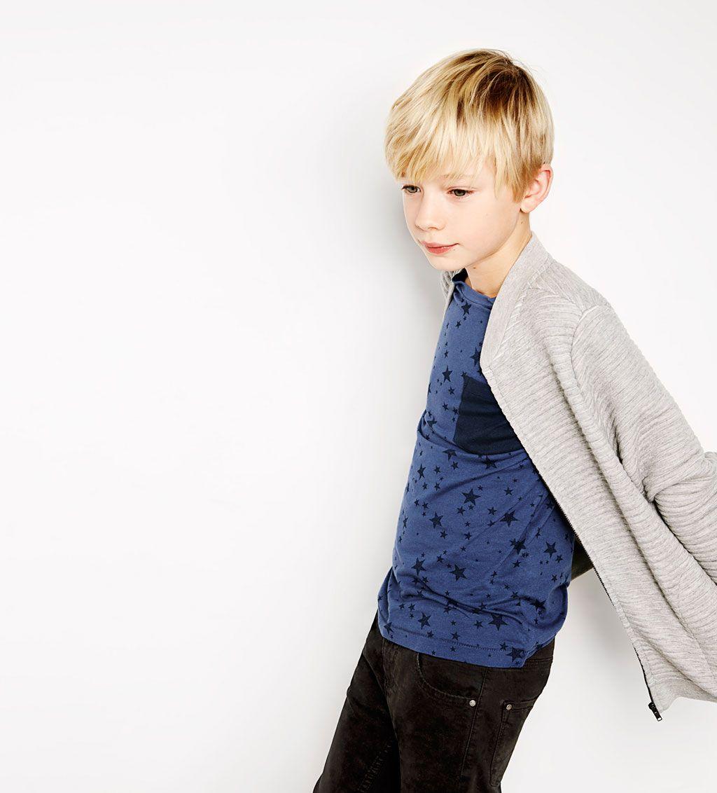 fe3332b6f2 Long zipped sweatshirt-JACKETS-BOY | 4-14 years-KIDS | ZARA Finland ...