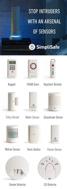 When You Choose Simplisafe You Get A Custom Home Security System Shipped Straight To Your Door With Images Home Security Tips Wireless Home Security Systems Home Security