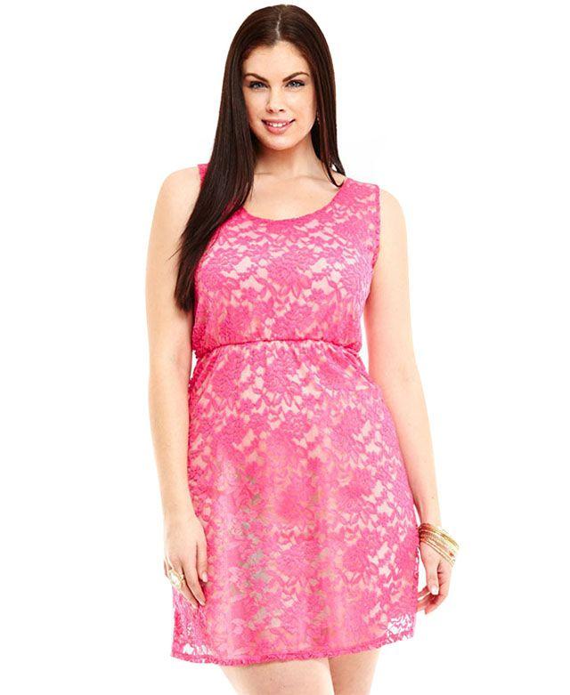 3029f98acc Plus Size Lace Dress | LET YOUR STYLE SHINE | Plus size lace dress ...