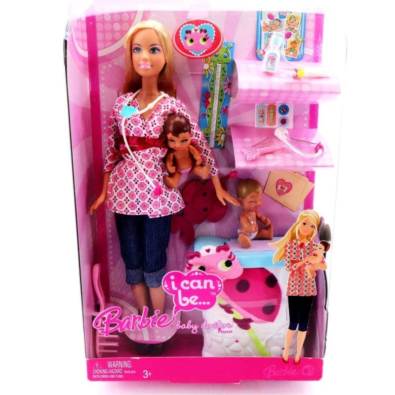 Barbie I Can Be Baby Doctor Play Set Barbie I Doctor Play