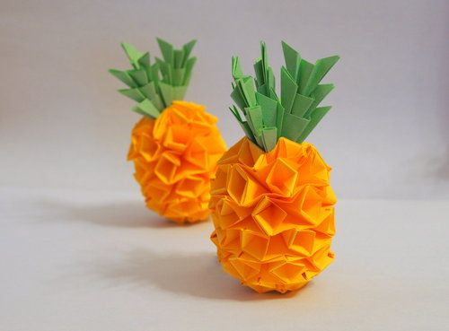 Eagle Origami Pineapple Pineapple Step By Step Photos A Project If
