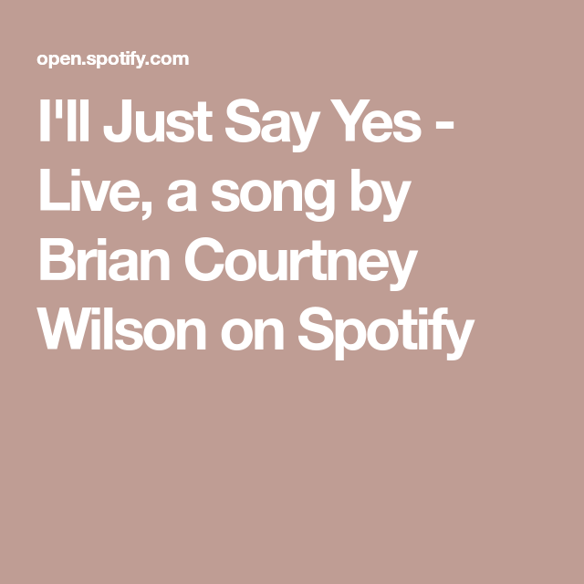 Live, A Song By Brian Courtney Wilson