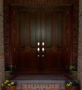 Entry Door, Maybe Put A Decorative Peep Hole In It.