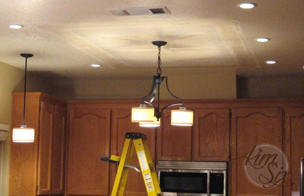 Kitchen Lighting Replace Flourescent Removing A