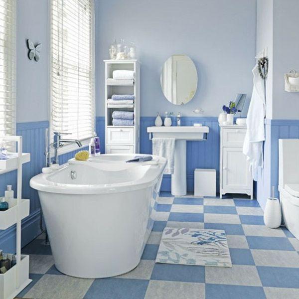Blaue wei badewanne badezimmer fliesen ideen unbedingt for Badewanne fliesen ideen