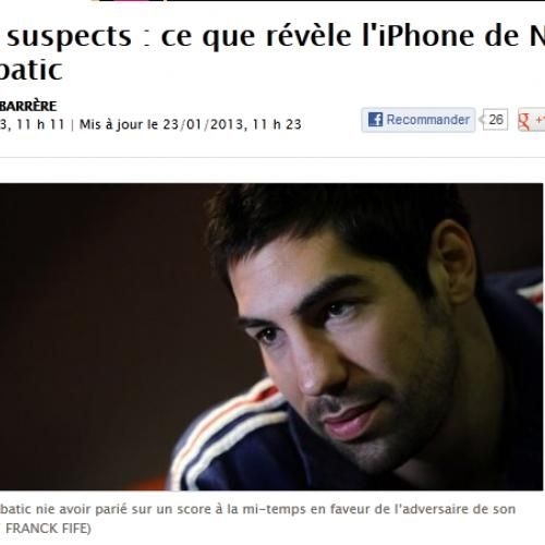 Paris suspects : ce que révèle l'iPhone de Nikola Karabatic