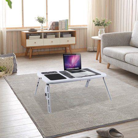 Lightweight Folding Adujustable Plastic Laptop Desk Laptop Table