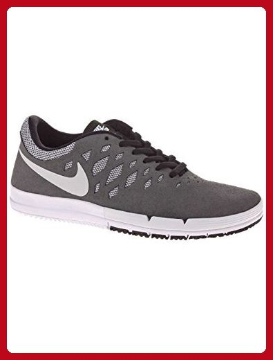 2cda52cc0e3a Nike SB Free Skate Shoe - Men s Dark Grey White-Team Red-Black