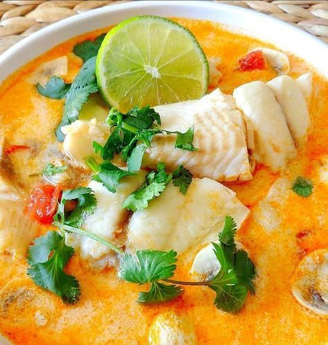 TOM YUM PLA (THAI FISH SOUP)#fish #pla #soup #thai #tom #yum