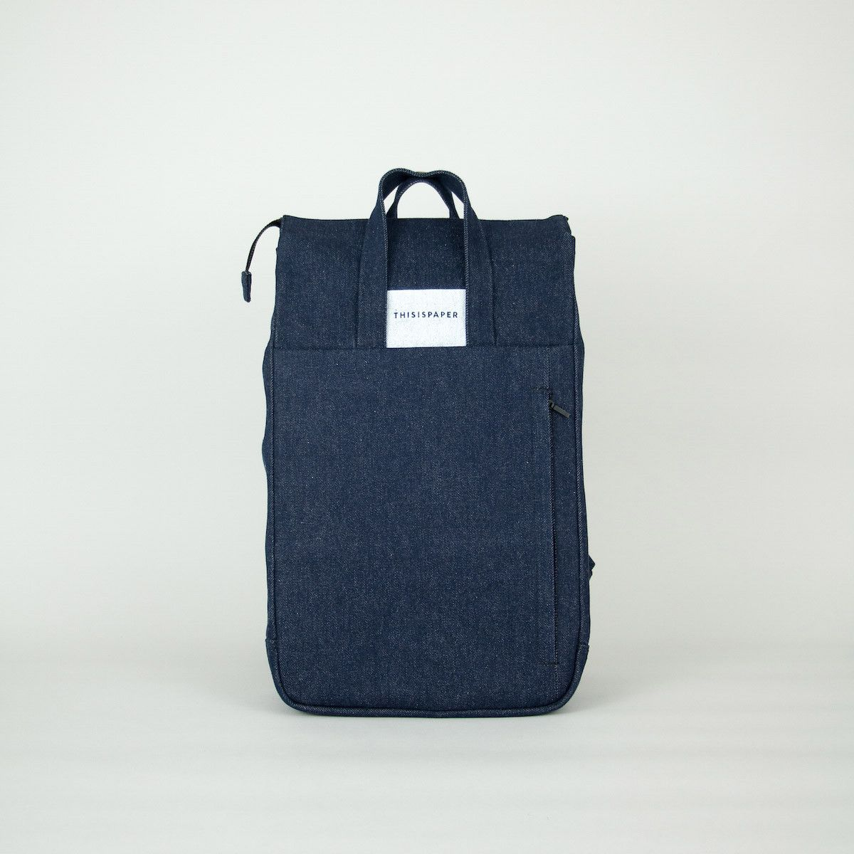 FLASH SALE: Handle Backpack 01 Denim