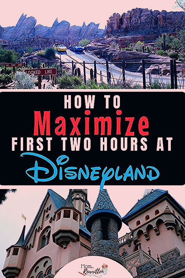 Photo of Insider Tips -Make the Most of Your First Two Hours at Disneyland