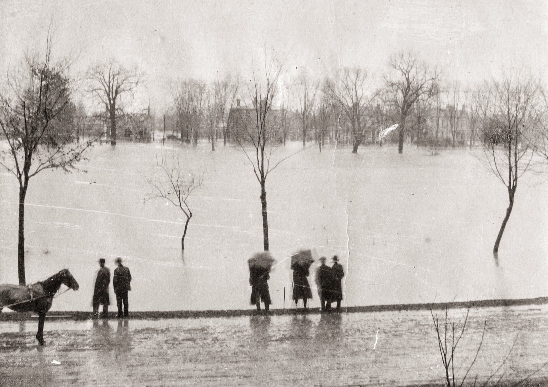 1913 Flooding In Franklin Ohio Franklin Ohio Ohio Dayton Ohio