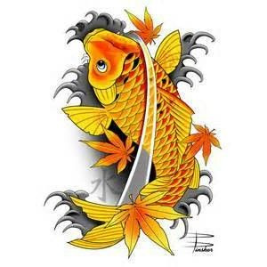 Pin japanese koi fish tattoo meaning tribal tattoos design for Black koi fish meaning