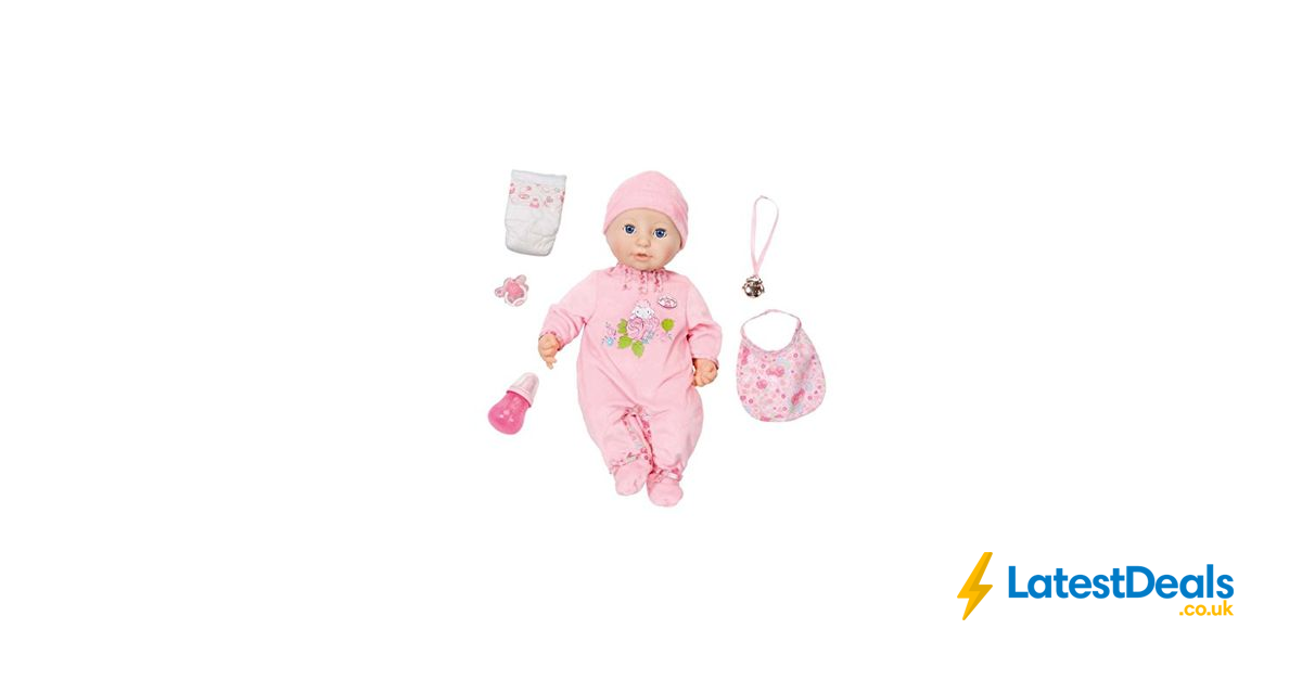 Baby Annabell Interactive Doll Free Delivery, £29.07 at ...