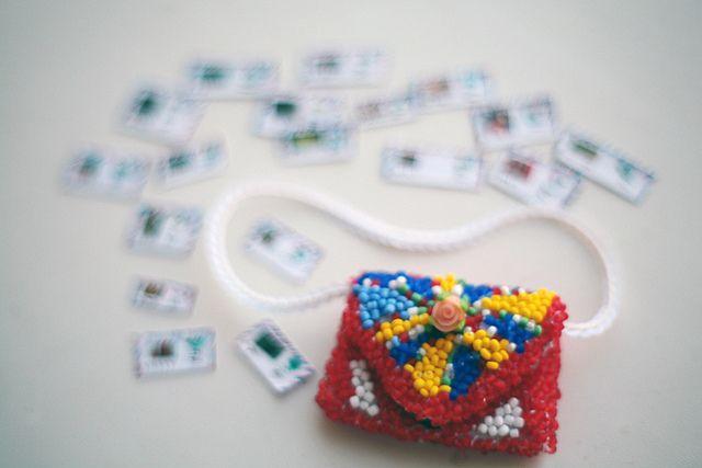 carterirta y cartitas en miniatura