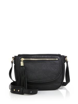 Milly Astor Leather Saddle Bag Bags Shoulder