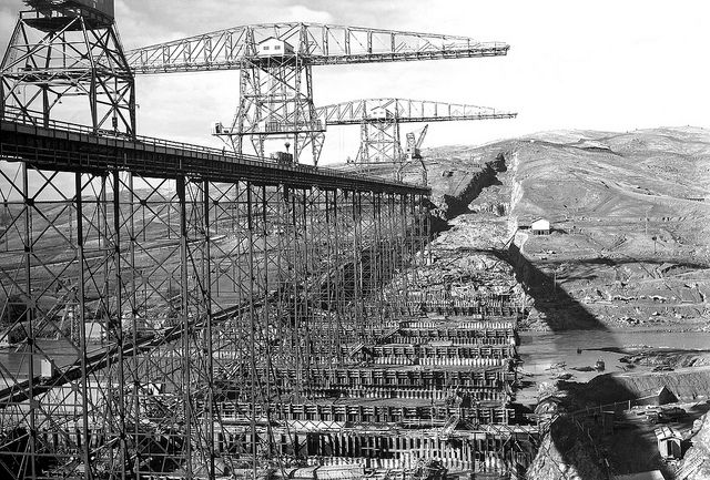 Friant Dam Construction With Images Millerton Lake Fresno