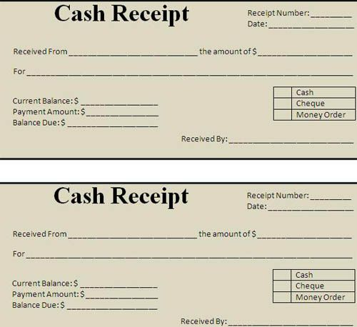 For Car Repair Service Invoice Template With Gst Indian Hotels   Cash  Receipt Voucher Word Format  Money Receipt Word Format