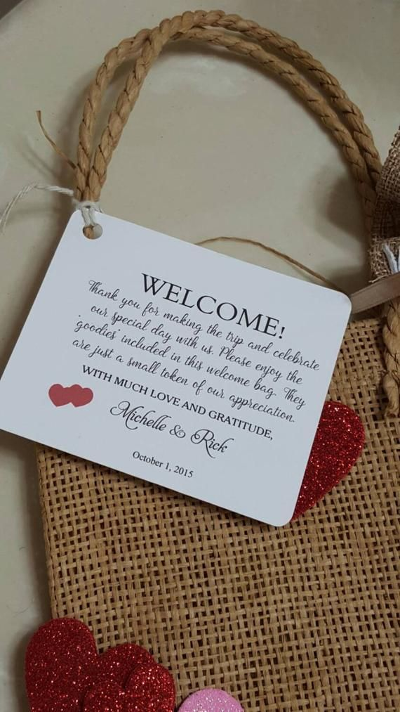 8 X 10 Kraft Wedding Welcome Gift Bags Personalized Wedding Hotel Gifts Wedding Gifts For Guests Wedding Guest Gift Bags Hotels