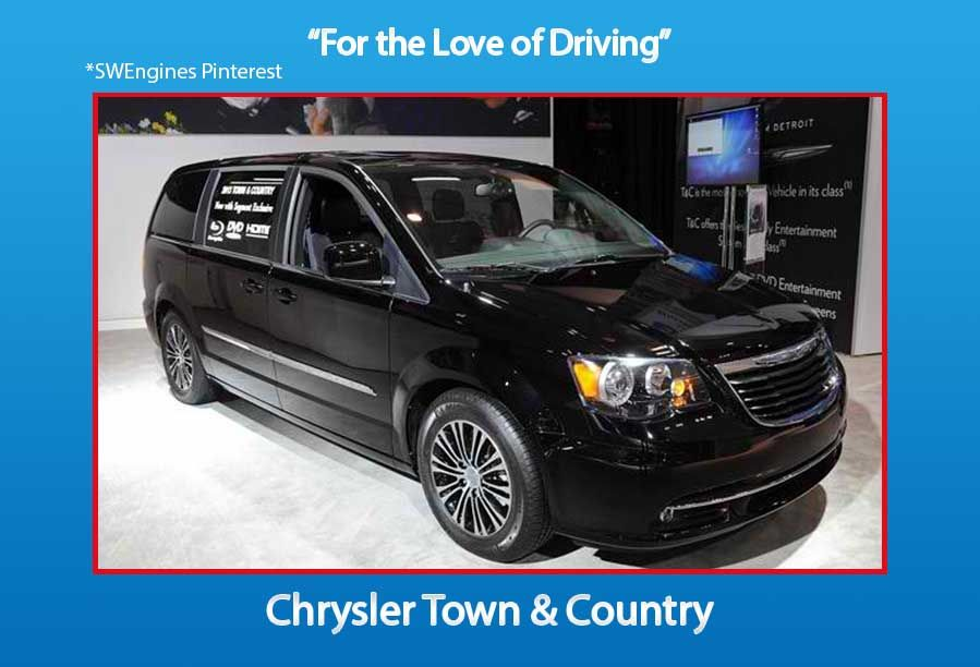Swengines Check Out The New Chrysler Town Country Chrysler