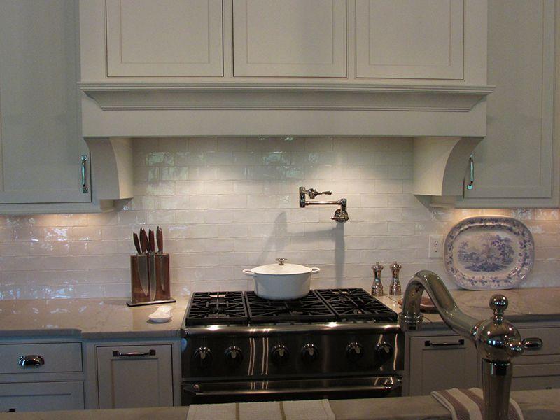 Tiled Kitchen Backsplash featuring Walker Zangeru0027s Cafe