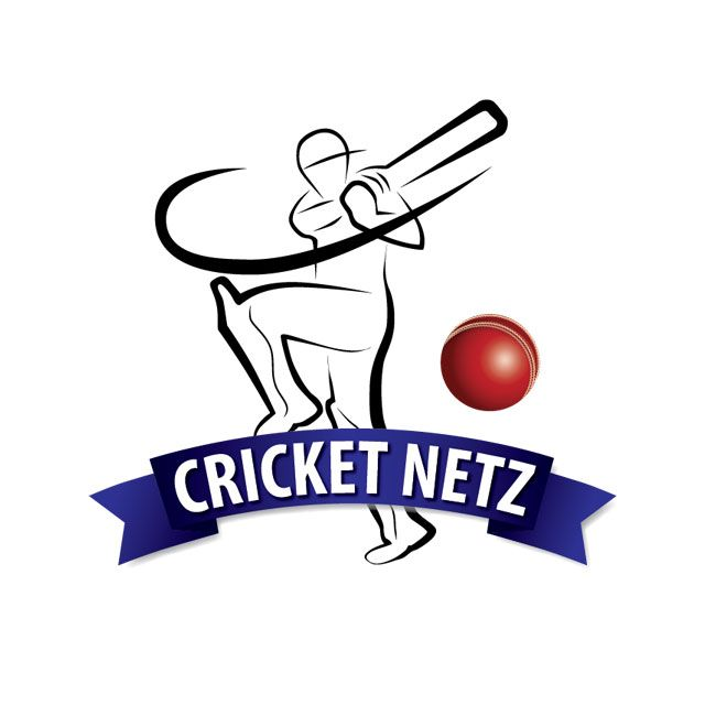 Cricket Netz logo - Shape Grafix | cricket cup logos | Cricket logo