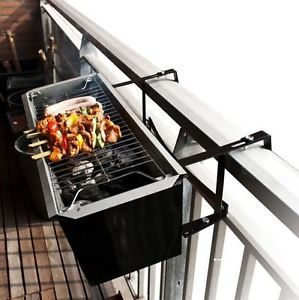 Balcony Charcoal Barbecue Bbq Grill Hotplate Window Box Party Boat Great Ideas
