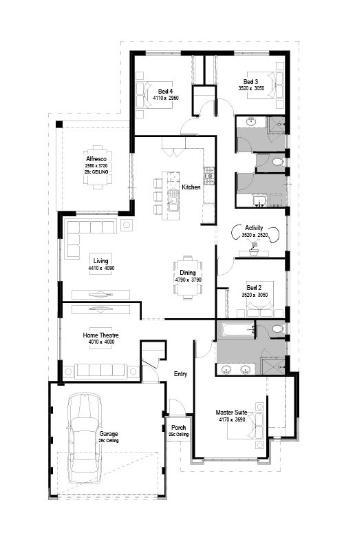 2d Floorplan Floor Designs House Design Floor Design House Plans