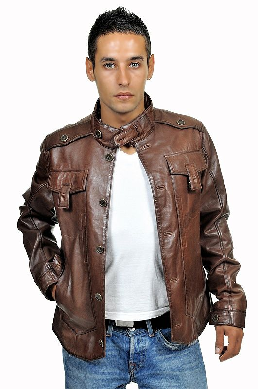 Light Brown Leather Jacket Men - Bing images | leather_jackets ...