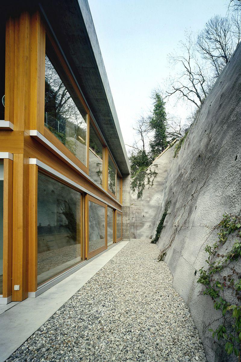 Livio vacchini koerfer house ascona 2005 for Idee architettura interni