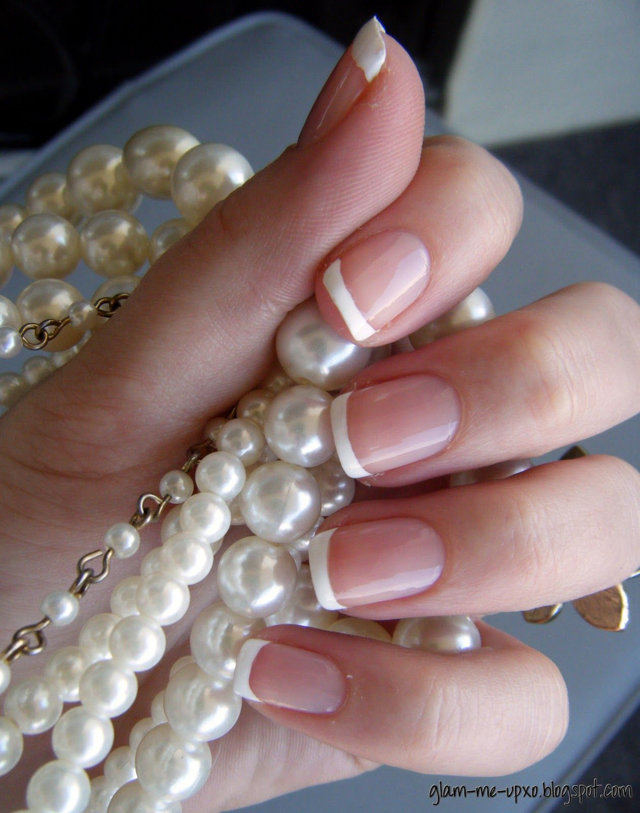 Love french manicures... | Nail art | Pinterest | Natural french ...