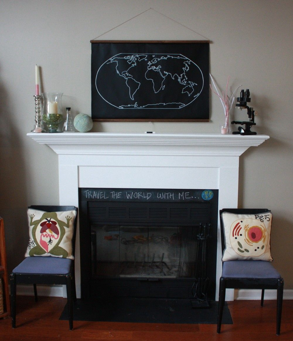 Chalkboard world map larger size 8500 via etsy home dining chalkboard world map larger size 8500 via etsy gumiabroncs Images